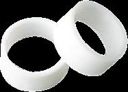 Úzké upínací kroužky pro úzké návleky