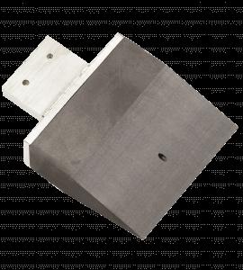 Široká grafitová elektroda